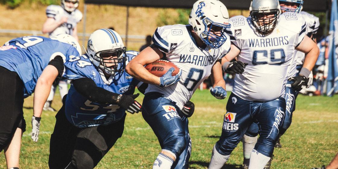 Schwalmstadt Warriors gegen Eschwege Legionäre – 01.07.2018