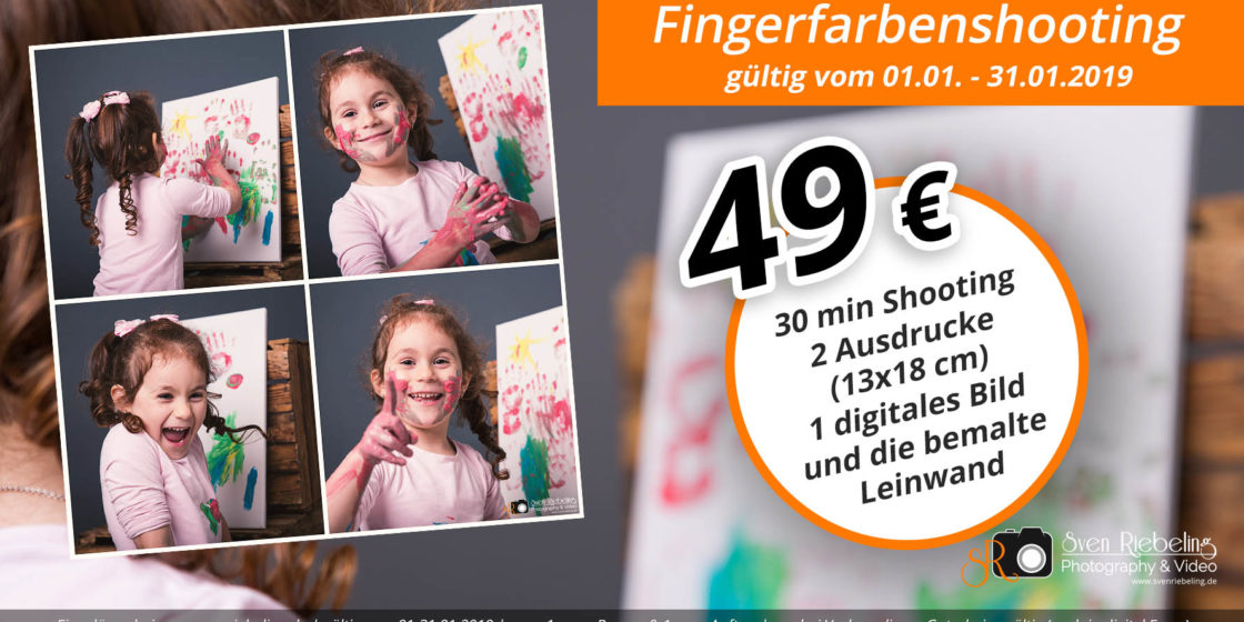 Fingerfarbenshooting – Aktion Januar 2019