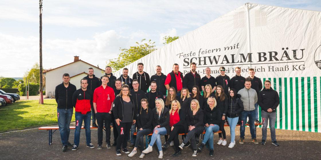 Gruppenfoto Burschenschaft Allendorf – Landsburg
